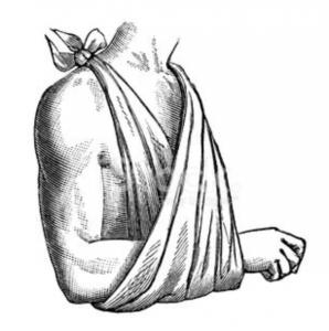 armsling peesontsteking schouder fysio middenweg